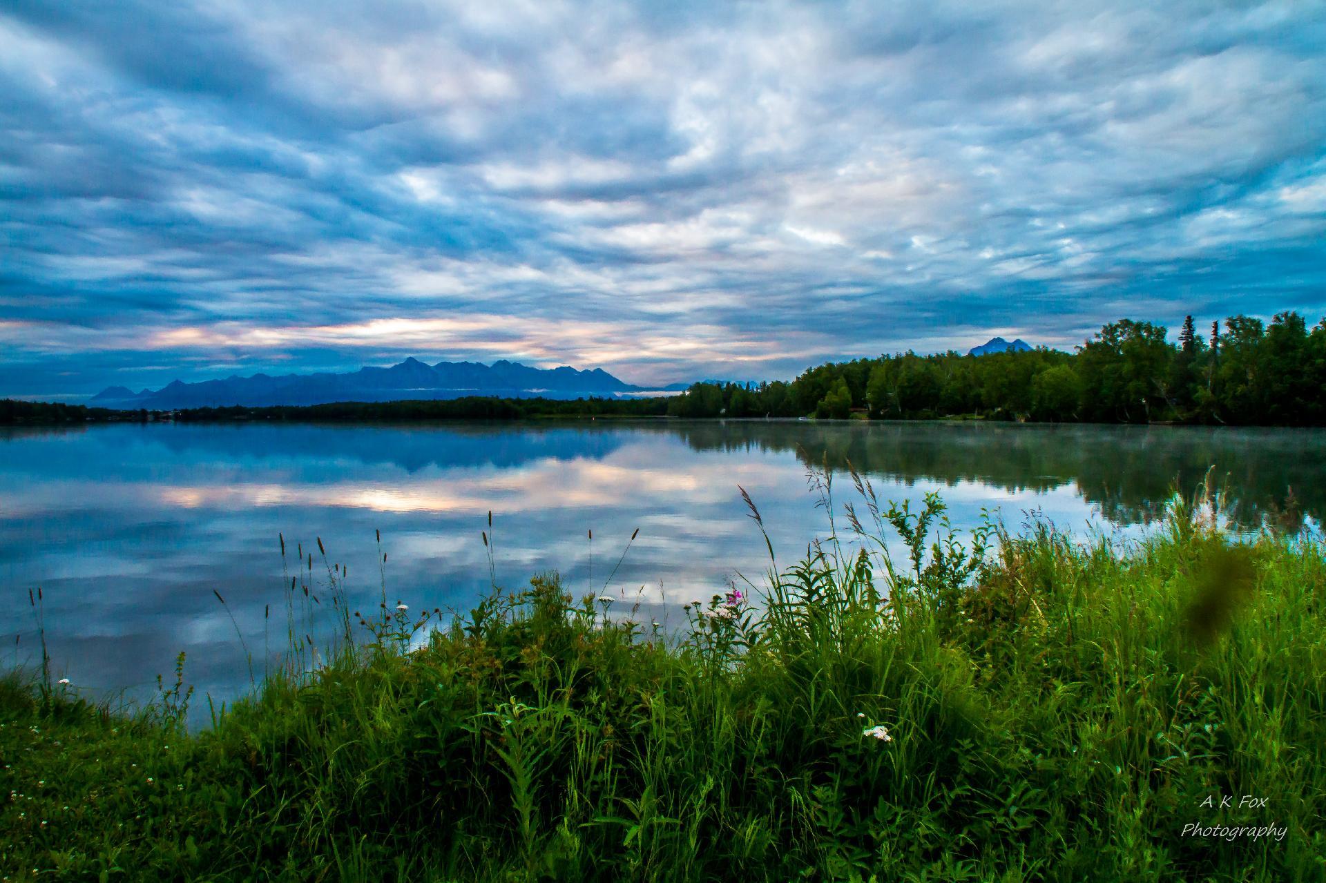Alaska Northern Lights Photograph by Sam Amato |Wasilla Alaska Landscape