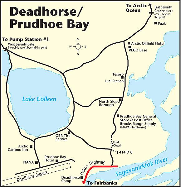 Deadhorse Map