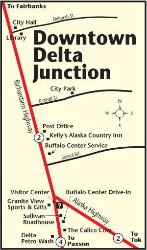 Delta Junction  Map