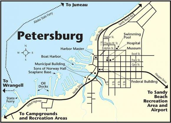 Petersburg Map