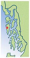 Sitka Locator Map