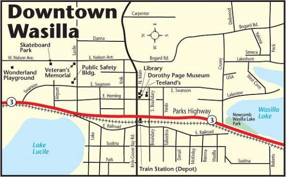 Wasilla alaska magazine wasilla map ccuart Images