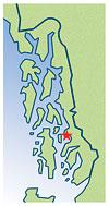 Wrangell Locator Map